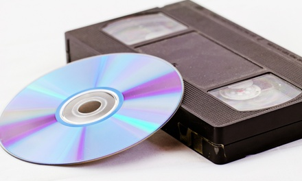 Tape-to-DVD Conversion or Photo Digitization at AJ Media Services (Up to 64% Off). Three Options Available.