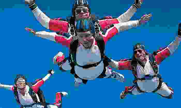Skydiving Land - Plant City: $105 for One Tandem Skydive from Skydiving Land ($210 Value)