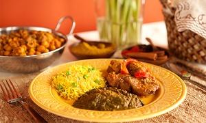 Sher e Punjab: Menú hindú para dos o cuatro personas con entrante, principal, postre y botella de vino desde 24,95 €