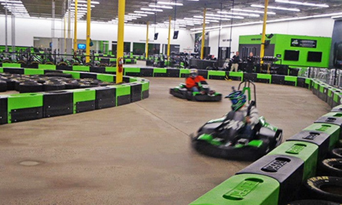 Speed Raceway - Speed Raceway: 14-Lap Indoor Go-Kart Race for Two, Four, Six, or Eight at Speed Raceway (Up to 52% Off)
