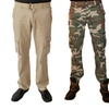 Red Snap Men's Starship Cargo Pants