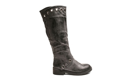 2LipsToo Riding Boots in Black or Brown. Free Returns.