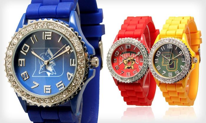 Go Design Bling College Watches: $14.99 for a Go Design Bling College Watch ($29.99 List Price). 35 Options Available.