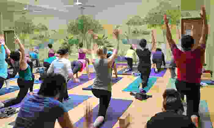 Goda Yoga - Downtown Culver City: 20 Classes or One Month of Unlimited Classes at Goda Yoga (Up to 64% Off)