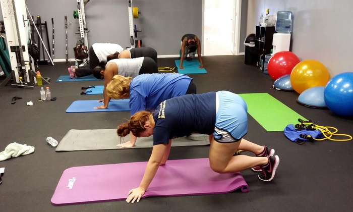 Glad Health & Fitness - Sunrise: 10 or 20 Small-Group Personal-Training Classes at Glad Health & Fitness (Up to 77% Off)