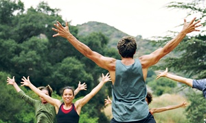 Unique Physique: 5 or 10 Zumba or Boot-Camp Classes at Unique Physique (Up to 58% Off)