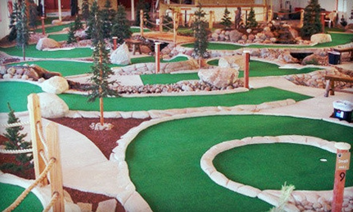 GolfZone - Golf Zone: $25 Worth of Mini Golf and Driving-Range Time