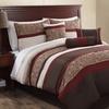 Capleton 7-Piece Embroidered Comforter Set