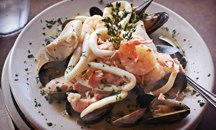 Athenian Seafood Restaurant and Bar - Pike Place  Market: $15 for $30 Worth of Seafood, Sandwiches, and Breakfast Food at Athenian Seafood Restaurant and Bar