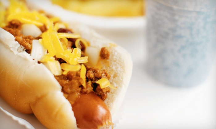 The Hawt Dog and Sausage Eatery - Cherry Creek: American Dinner for Two or $5 for $10 Worth of Gourmet Sausages and Burgers at The Hawt Dog and Sausage Eatery
