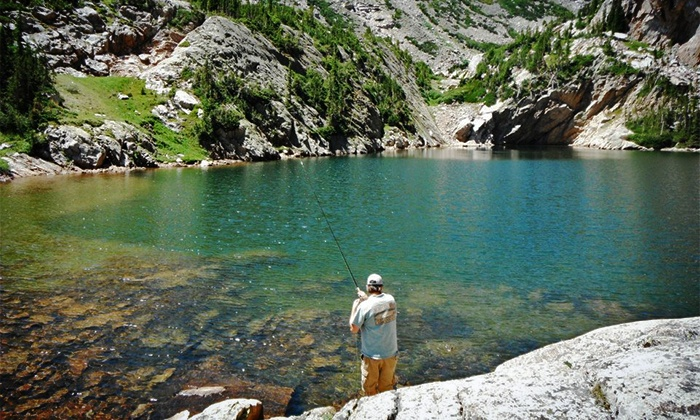 Kirk's Fly Shop - Estes Park: $100 for a Four-Hour Guided Fly-Fishing Trip from Kirk's Fly Shop ($185 Value)