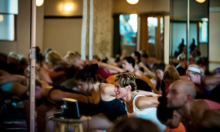 $39 for One Month of Unlimited Yoga Classes at Hudson Yoga Victoria ($177 Value)
