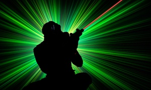Up to 52% Off Laser Tag at Galaxy Tag