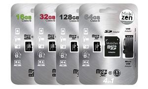 Carte micro SD avec adaptateur