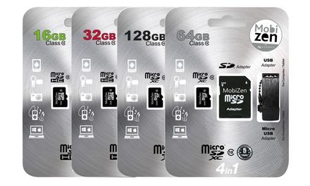 Tarjetas MicroSD con adaptadores
