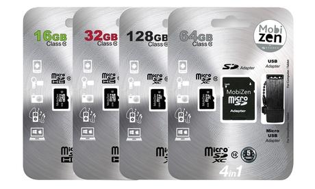 1 ou 2 cartes micro SD avec adaptateur USB et Carte SD