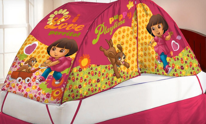 Kids' Bed Tent and Push Light Set: $18 for a Kids' Bed Tent and Push Light Set ($34.99 List Price). Six Options Available. Free Shipping.