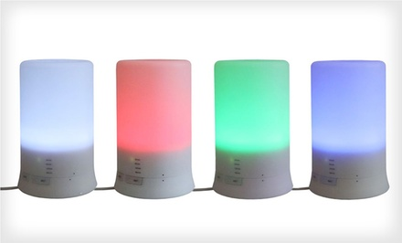 2-in-1 Ultrasonic Aroma Diffuser and Humidifier