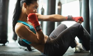TM Martial Arts: Martial-Arts Class Package or Ultimate Fitness Kickboxing Class Package at TM Martial Arts (Up to 80% Off)