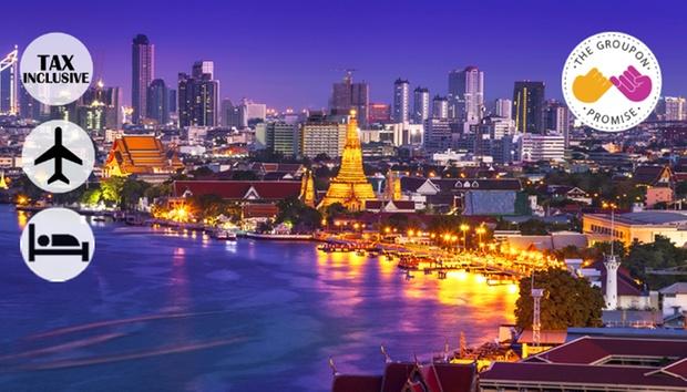 Bangkok: Stay + Return Airfare 0