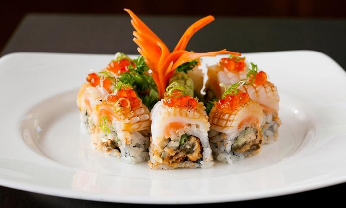 Basho Japanese Brasserie - Fenway - Kenmore - Audubon Circle - Longwood: Modern Japanese Dinner Cuisine at Basho Japanese Brasserie (50% Off). Two Options Available.