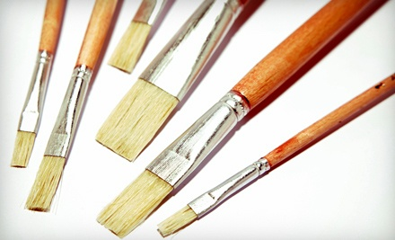 Two-Hour Art Class or Plaster-Painting Session for One, Two, or Four at Cre8sart (Up to 59% Off)