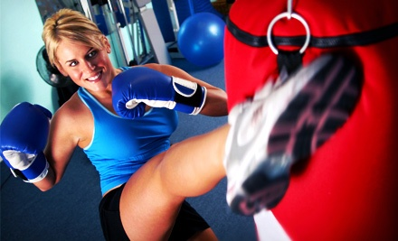 5 or 10 Group Kickboxing Classes, One Private Session, and Boxing Glove Rental at WMB Training Center (Up to 73% Off)