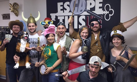 Room-Escape Game for One or Two at Escape This Live (Up to 38% Off)