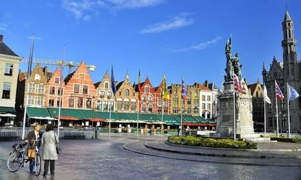 Cœur de Bruges : chambre double avec pdj, bien-être et boisson de bienvenue pour 2 personnes à l'Hotel de Medici 4*