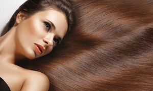 Prado Spa & Salon: Color with Haircut Packages at Prado Spa & Salon (Up to 69% Off). Three Options Available.