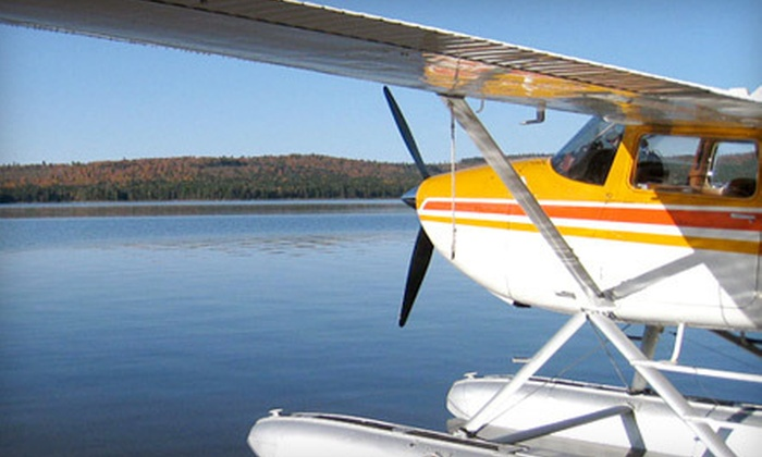 Acadian Seaplanes - Rangeley Lake Seaplane Base: Seaplane Dinner Tour for Two or Four from Acadian Seaplanes in Rangeley (40% Off)