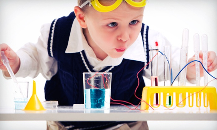 Destination Science - Multiple Locations: Five-Day Kids' Science Camp from Destination Science (54% Off). 14 Options Available.