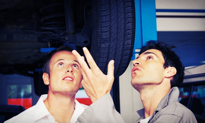 A+ Auto Services - Crescent Heights: Oil Change, Tire Rotation, and 30-Point Inspection, or Seasonal Tire Changeover at A+ Auto Services (Up to 65% Off)