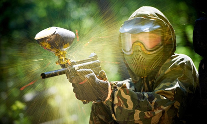 Wolverine Paintball - Hendersonville: Paintball Outing for One or Four Including Rental Gear and 200 Paintballs Each at Wolverine Paintball (Up to 58% Off)