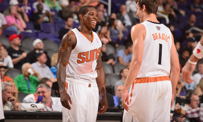 Phoenix Suns - Talking Stick Resort Arena: Phoenix Suns Game and USB Car Charger at US Airways Center on January 2 or 4 (Up to 61% Off). Two Seating Options.