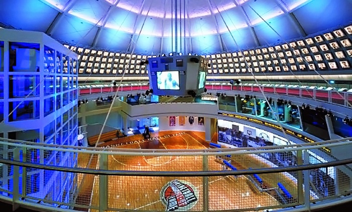 Basketball Hall of Fame - South End: Naismith Memorial Basketball Hall of Fame Visit for Two or Four (Up to 58% Off)