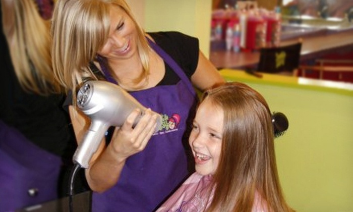 Sweet & Sassy - Walnut Grove - Shelby Farms PD: $12 for a Glittery Glam Express Package with Updo, Makeup Application, and Nail Polish at Sweet & Sassy ($24.95 Value)