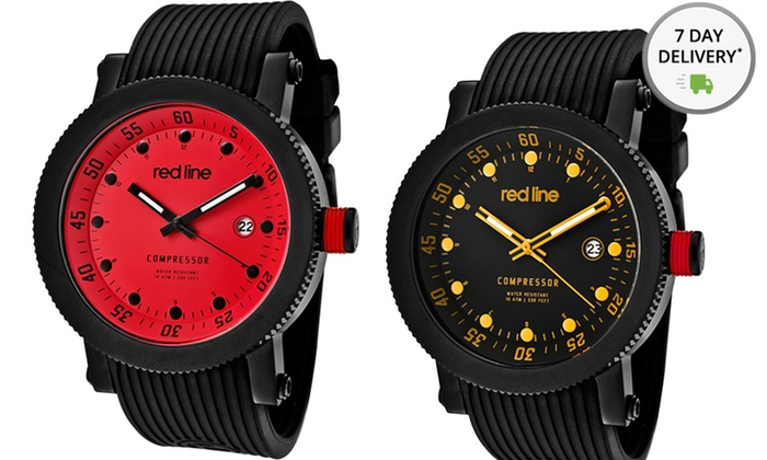 Red Line Men's Compressor Watches: Red Line Men's Compressor Watches. Multiple Styles Available. Free Shipping and Returns.