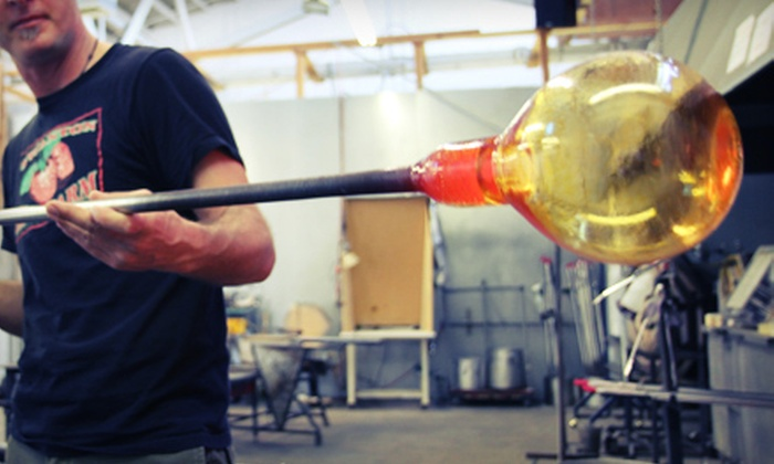 Bay Area Glass Institute - Downtown San Jose: Bowl-Making Class for One or Cold Glass-Fusing Experience for Four at Bay Area Glass Institute (Up to 56% Off)