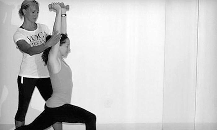 Yoga at Tiffany's - Yoga at Tiffany's - Oklahoma City: $35 for One Month of Unlimited Yoga Classes at Yoga at Tiffany's ($100 Value)