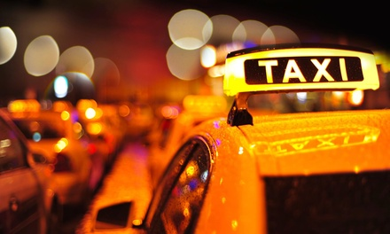40% Off Taxi Services