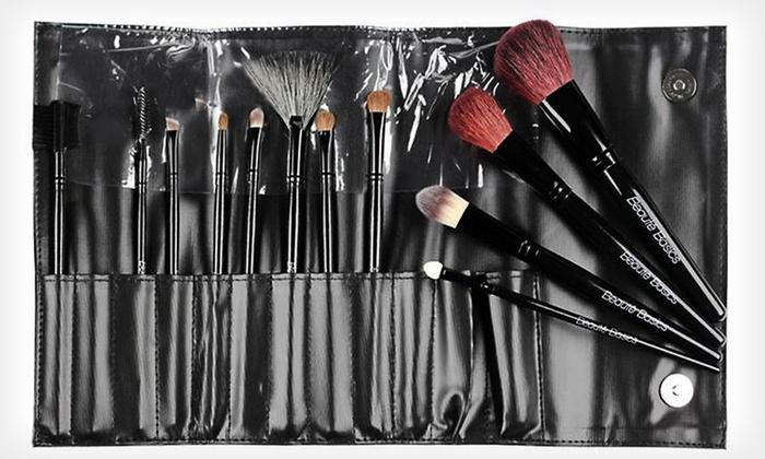 Beauté Basics 12-Piece Makeup-Brush Set: $17 for a Beauté Basics 12-Piece Professional Makeup-Brush Set ($74.95 List Price)