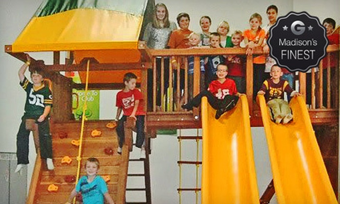 PlayN Wisconsin - Northside: Weekday or Weekend Visits for Three or a Weekend Birthday Party at PlayN Wisconsin (Up to 53% Off)