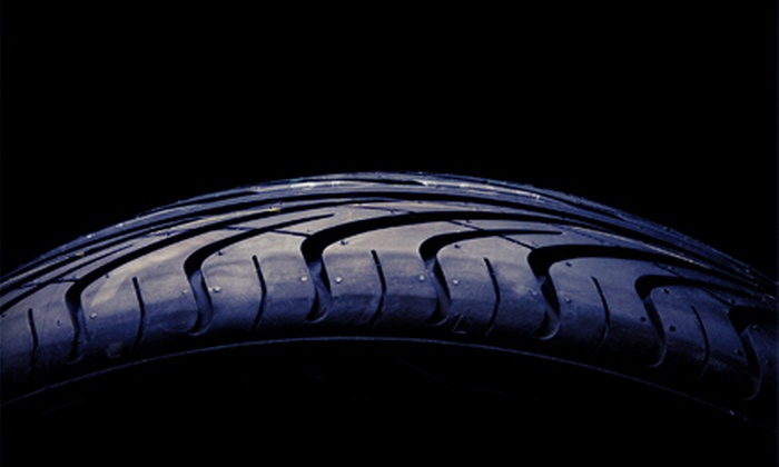Fletcher's Tire and Auto Service - Multiple Locations: Two or Four Tire Spin Balance and Rotation Packages at Fletcher's Tire and Auto Service (Up to 80% Off)