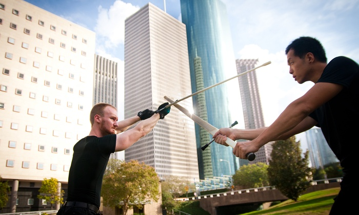 Sword to Sword - Multiple Locations: 5 or 10 Sword Combat Classes at Sword to Sword (Up to 66% Off)