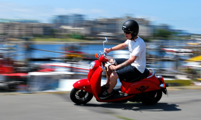 Cycle BC Rentals & Tours - Downtown: C$21 for a Two-Hour Scooter Rental with Gas and Insurance from Cycle BC Rentals & Tours (C$47 value)