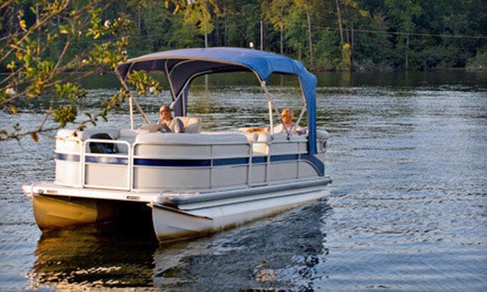 Belle Harbour Boat Rentals - Tarpon Springs: Eight-Hour Pontoon-Boat Rental or Two-Day Boat-Rental Package at Belle Harbour Boat Rentals (Up to 52% Off)