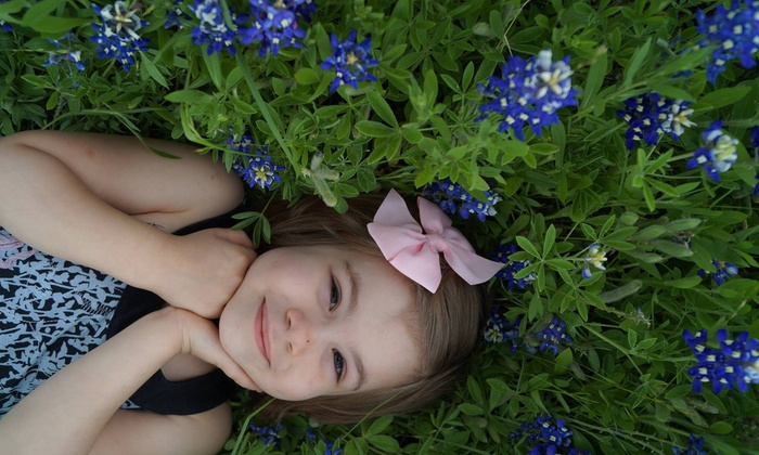 A Smile Is Forever - Houston: 90-Minute Outdoor Photo Shoot with Digital Images from A Smile Is Forever (77% Off)
