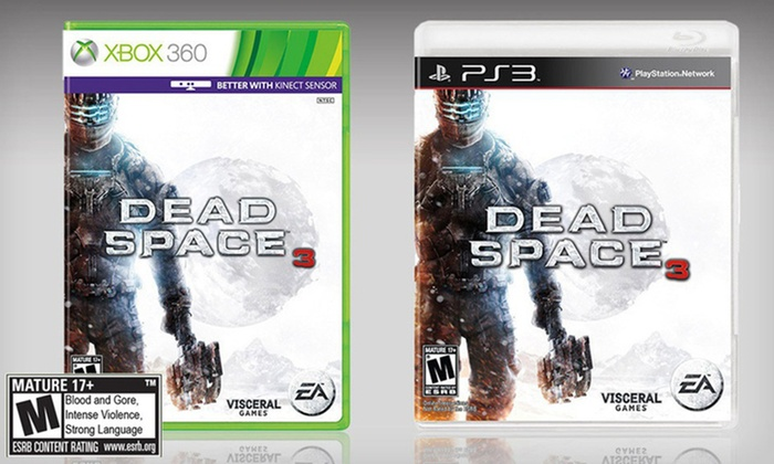 Dead Space 3 for PS3 or Xbox 360: $39.99 for Dead Space 3 for PS3 or Xbox 360 ($59.99 List Price). Free Shipping and Free Returns.