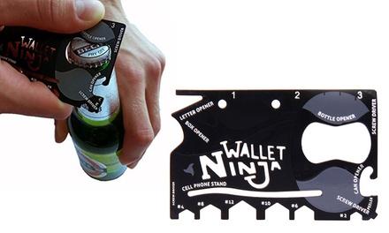 Wallet Ninja 18in1 Ninja MultiTool Wallet
